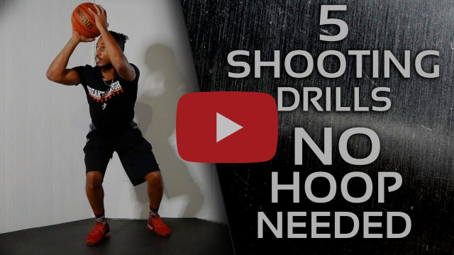 5 At-Home Shooting Footwork Drills (No Hoop Needed) | Workout to Improve Shot Prep & Stance